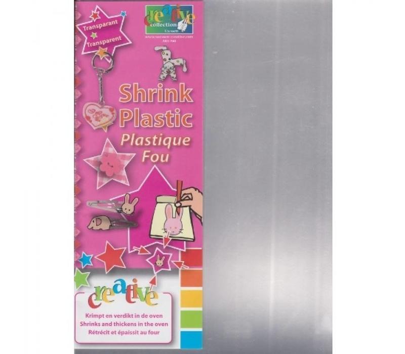 Grafix Shrink plastic - A4 - per 5 vellen