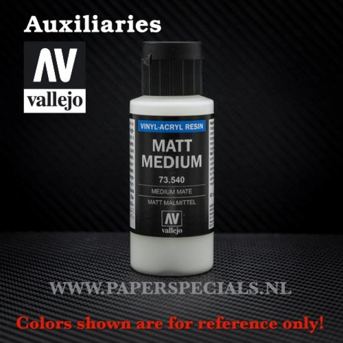 Vallejo - Matte Medium 60ml