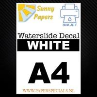 Inkjet - Sunny Waterslide Decal papier - A4 - per vel