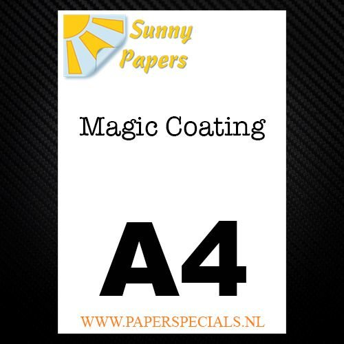 Sunny - Magic coating papier - per vel - A4