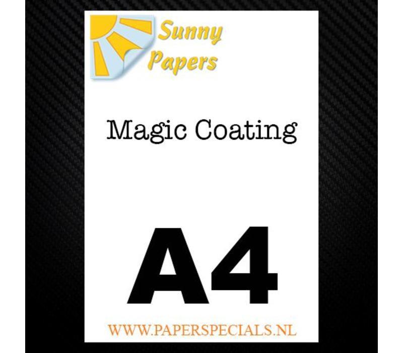 Sunny - Magic coating papier - per vel - A4