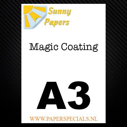 Sunny - Magic coating papier - per vel - A3