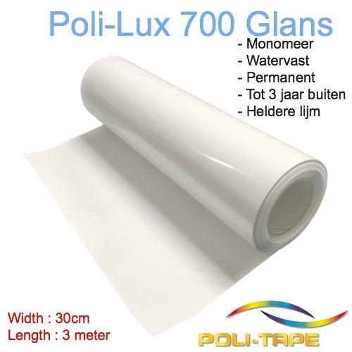 Poli-Lux 700 - Monomer lamination foil glossy - Roll 30cm x 3 meter - Copy