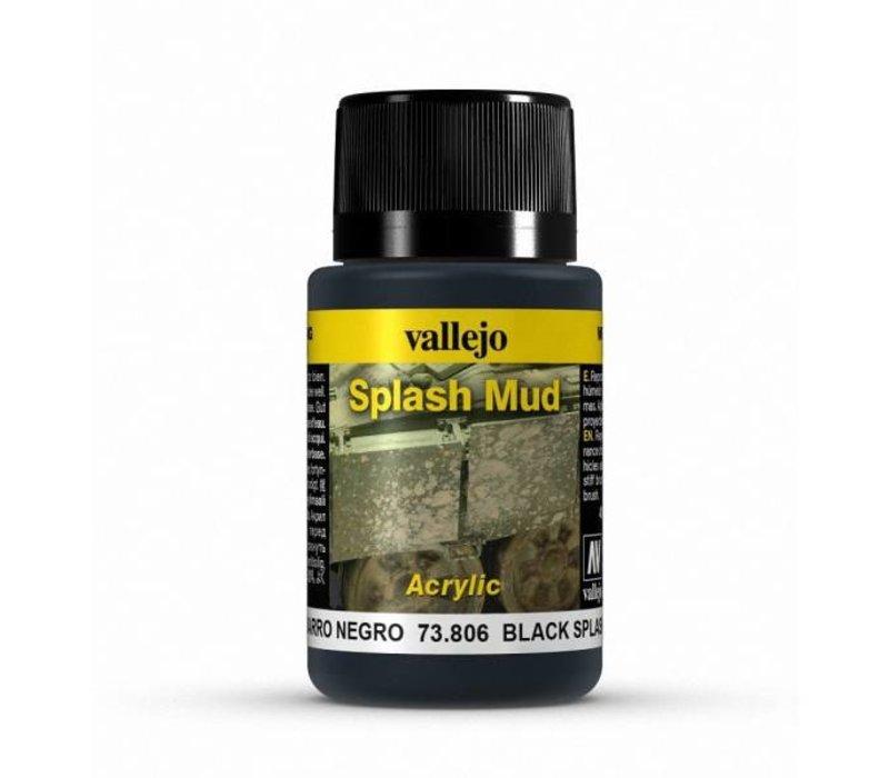 Vallejo Black Splash Mud  73.806 | 40 ml