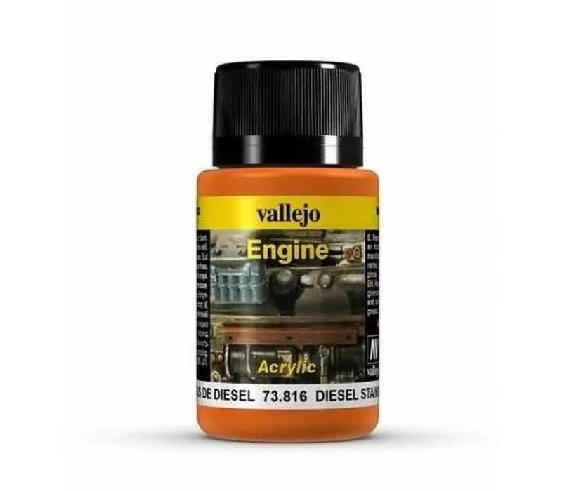 Vallejo Brown Engine Soot 73.818 | 40 ml