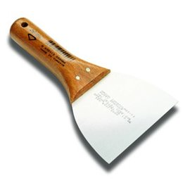DEKOR PUTTY SPATULA  - Wooden Handle 100 mm