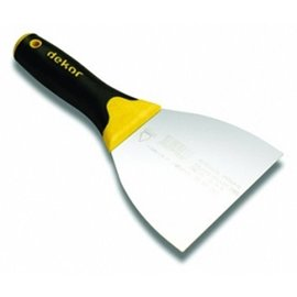 DEKOR PROFESSIONAL SPATULA  - Soft Grip 140 mm