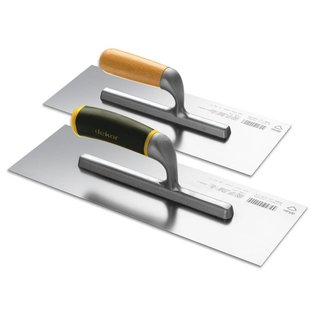 DEKOR AMERICAN TROWEL - Aluminium Wooden Handle 120 mm