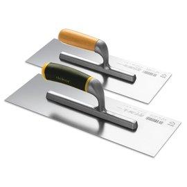 DEKOR DEKOR Amerikaanse pleisterspaan - Houten handvat 120x45 mm RVS