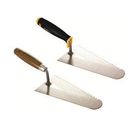 DEKOR CELLULAR CONCRETE TROWEL-WOODEN HANDLE 220 mm