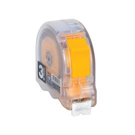 DEKOR TRANSPARENT TAPE MEASURE  3MX16MM mm