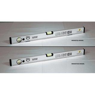 DEKOR DEKOR Waterpas met magneet aluminium body 1200x48x22mm