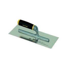 DEKOR NOTCHED TROWEL - Aluminium Handle 120 x 300 mm