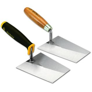 DEKOR DEKOR Pleister en metseltroffel - Zacht handvat, Breedte 220 mm