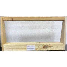 TEPE DEKOR Verzamelbak neutraal houten handvat, Breedte 63,5 mm