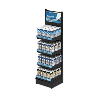 DEKOR DEKOR Bouwchemisch en kit display 345 pcs
