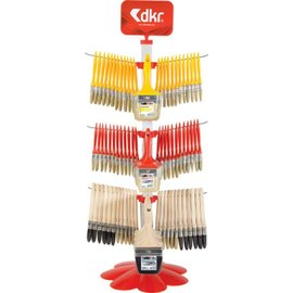 DEKOR MIXED BRUSH STAND SET (144 PCS)*