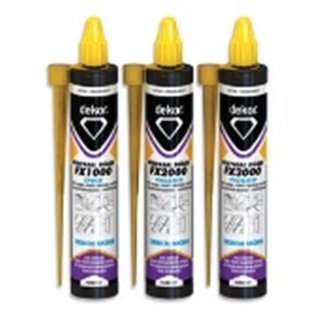 DEKOR CHEMICAL ANCHOR FX1000 EPOXY 300 ML