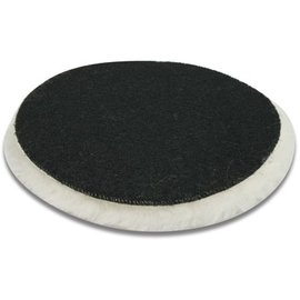 DEKOR DEKOR Sheepskin polishing felt with Velcro - 16 cm