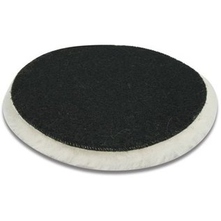 DEKOR DEKOR Sheepskin polishing felt with Velcro - 16 cm