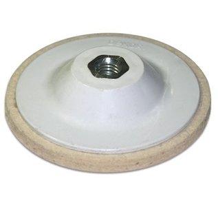 DEKOR Polishing Felt for Marble(Sheepskin) 11cm dia