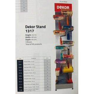 DEKOR DEKOR Schildersroller stand Compleet 2,20 x 0,40 x 0,44 m