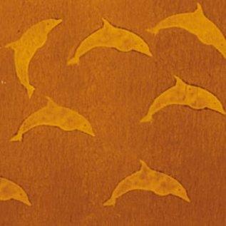 DEKOR DEKOR Decoratief Dolfijnstempel 9x7 cm