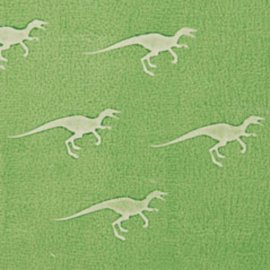 DEKOR DEKOR Decoratief Dinosaur kleinstempel 9x7 cm