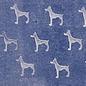 DEKOR DEKOR Decoratief Hondstempel 9x7 cm