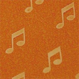 DEKOR DEKOR Decoratief Muzieknotestempel 9x7 cm