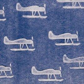 DEKOR DEKOR Decoratief Plane Vliegtuigstempel 9x7 cm