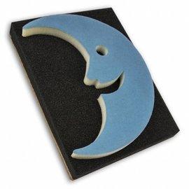 DEKOR DEKOR Decorative Moon shaped stamp 18x18cn (Large)
