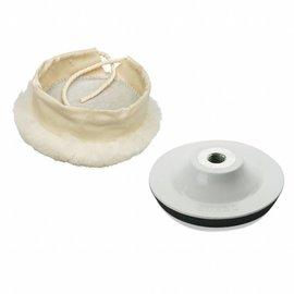 DEKOR DEKOR Polijstpad set 16cm diameter