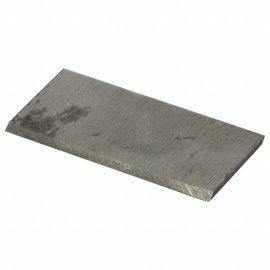 DEKOR Aluminium Scraper Spare 2,2x7 cm