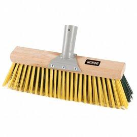 """DEKOR DEKOR Wooden yard sweeper 11.8""""/30 cm"""