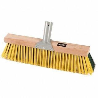 """DEKOR DEKOR Wooden yard sweeper 15.7""""/40 cm"""