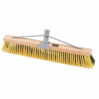 """DEKOR DEKOR Wooden yard sweeper 23.6""""/60 cm"""