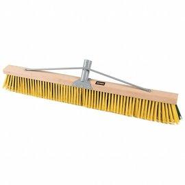 "DEKOR Wooden Sweeping Yard Brush 39.4""/100 cm"