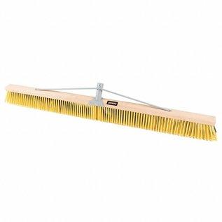 """DEKOR DEKOR Wooden sweeper for yard work 47.2""""/120 cm"""
