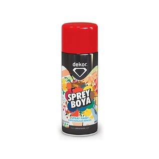 DEKOR DEKOR spray paint lichtrood RAL2002 400ml