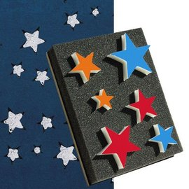 DEKOR DEKOR Decorative Stars shaped stamp 15x20cm(Large)