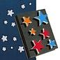 DEKOR DEKOR Decorative Stars shaped stamp 15x20cm(Large)