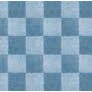 DEKOR DEKOR Decoratief Lederen Dambord Effect Roller 20cm