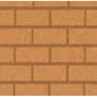 DEKOR DEKOR Decoratief lederen rechthoekig effect roller 20 cm