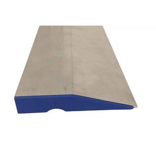 DEKOR DEKOR Aluminium Wandrij (model) Trapezium 1,5 m