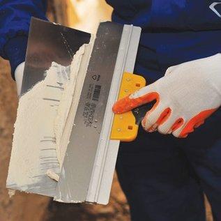 DEKOR CURVED HANDLE SPATULA - Soft Grip 200 mm