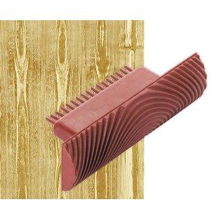 DEKOR DEKOR Decoratief Hout effect roller (klein) 10 cm