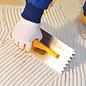 DEKOR Notched Trowel Square Notched, Soft Handle - Open End 120 mm x 300 mm (8 x 8)