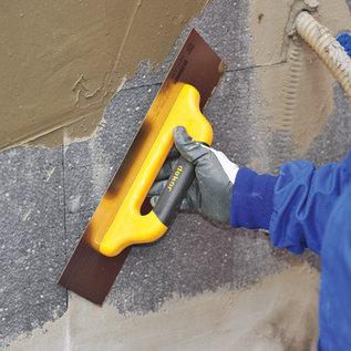DEKOR Pleisterspaan met zachte handgreep - gesloten uiteinde (120 mm x 500 mm)