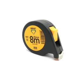 DEKOR TAPE MEASURE SOFT TOUCH HELIX MODEL 8MX25MM